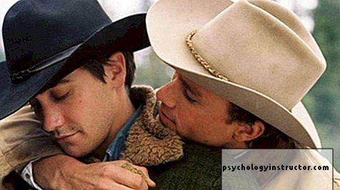 Scena s planinskim gay seksom
